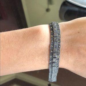 Jewelry - Sterling silver marcasite bracelet